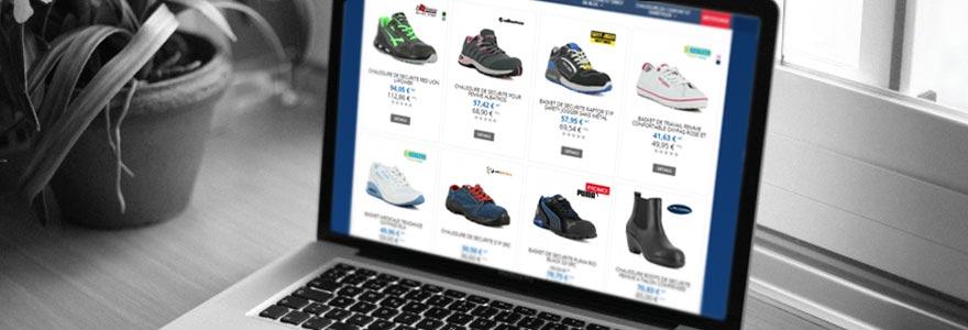 acheter des chaussures de securite en ligne